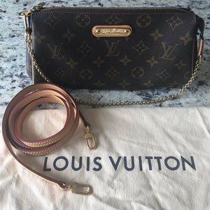 Louis Vuitton Eva Clutch Monogram Canvas